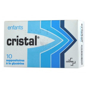 SUPPO GLY CRISTAL ENFANT BT DE 10