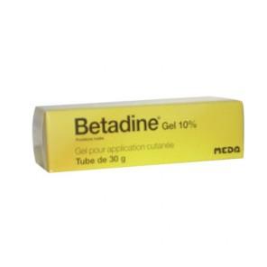 BETADINE GEL 10% T 30G