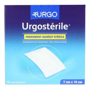 URGOSTERILE PANS 10CM X7 10 T