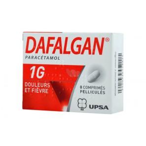 DAFALGAN 1 g Comprimé pelliculé B/8