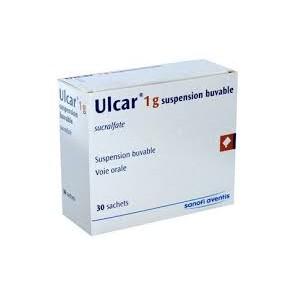 ULCAR Suspension buvable à 1 g