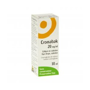 CROMABAK 2% COLLY FL 10ML