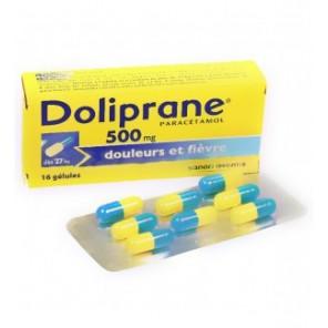 DOLIPRANE 500 mg Gélule B/16