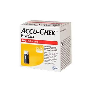 ACCU CHEK FASTCLIX LANCET204 T