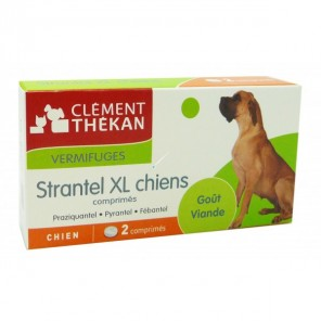 CLEMENT STRANTEL XL CHIENS BT DE 2 CP