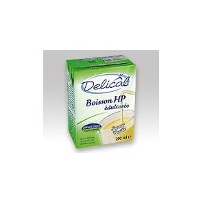 DELICAL Boisson hp hc sans sucres nutriment vanille