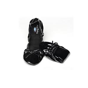 SCHOLL POCKET BALLERINA BLACK 35/36