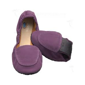 SCHOLL POCKET BALLERINA PURPLE 37/38