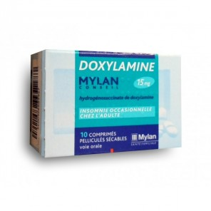 DOXYLAMINE MYLA15MG CONS CPR10
