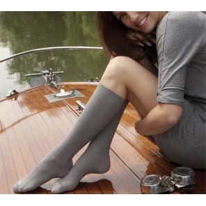 Venoflex Fast® Coton Chaussette Classe 2 Irlandais noir T1 Long