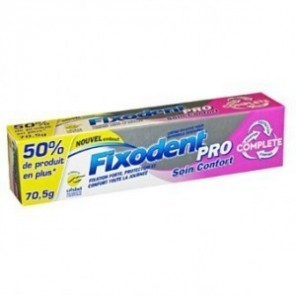 Fixodent pro soin confort 70g