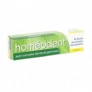 Homéodent soin complet dents et gencives citron 75ml